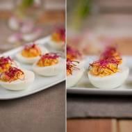 Jajka faszerowane kaszą jaglaną