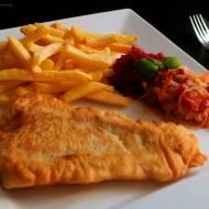 Ryba w Cieście z Frytkami -