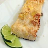 Biała ryba w sezamie