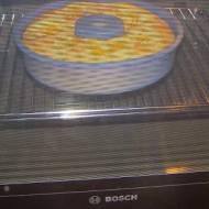 piekarnik Bosch z Doradcy Smaku jest u mnie w domu i upiekł pierwsze ciasto...