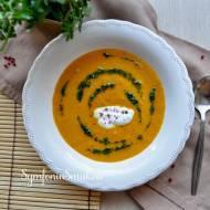 118. Zupa na rozpoczęcie wiosny, czyli krem z pieczonych marchewek z mleczkiem kokosowym.