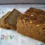 Chleb z mielonymi ziarnami - gryka, jagła, len, dynia, słonecznik