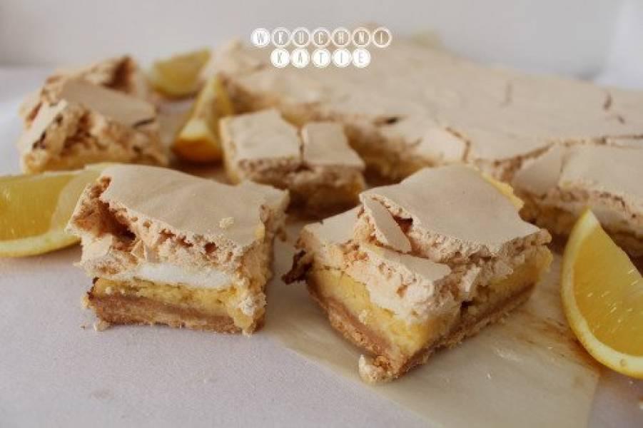 Crispylemon & meringue tart