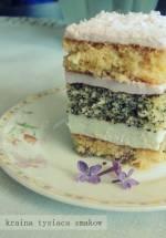 Lucynka - łatwy tort z kremem lub ciasto do kawy, które zawsze się udaje!