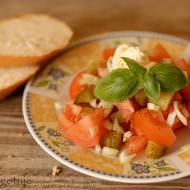 Szybka śniadaniowa sałatka
