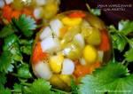 Jajka warzywne galaretki