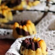 Marmurkowe babeczki wielkanocne z mąki jaglanej. Idealne do koszyczka.