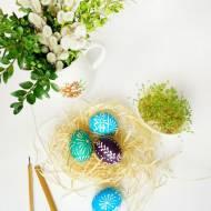 DIY Pisanki - malowanie jajek woskiem i naturalnymi barwnikami