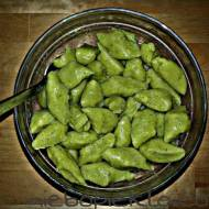 Zielone kopytka z kaszy jaglanej – jaglanello kopytczello