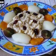 Bezglutenowy deser dla dziecka z wanilią