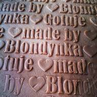 made by Blondynka Gotuje