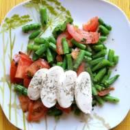 Jem zdrowo: Mozzarella na warzywach