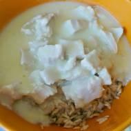 Śmietanowo-cytrynowa potrawka z kurczaka