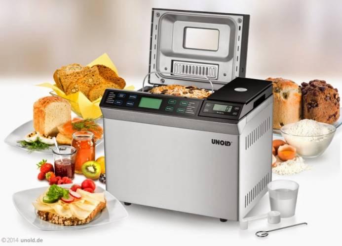 Automat do wypieku chleba marki Unold
