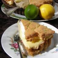 ciasto limonkowo-cytrynowe...