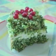 Leśny mech - ciasto ze szpinakiem