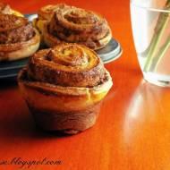 Muffiny różyczki drożdżowe + wyniki