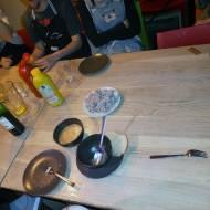 Moje warsztaty kulinarne - trzy dania z chleba -żurek, walijsko-niemieckie hot dogi i bajadery