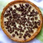 Sernik cytrynowy z czekoladą Bajeczną