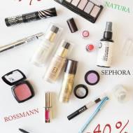 Aktualne zniżki w sklepach na kosmetyki do makijażu -49% i -40%