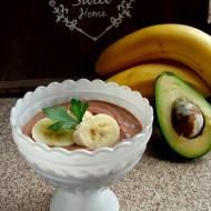 Budyń jaglany kakaowo-bananowy