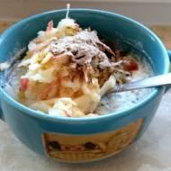 Jem zdrowo: nasiona chia z jogurtem i jabłkiem