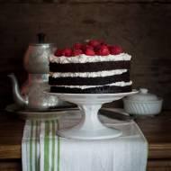 Ciasto czekoladowe na parze i 3 urodziny bloga