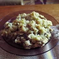 Pierś z kurczaka zapiekana z ryżem i cebulą (porcja - ok. 420 kcal)