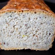 Chleb pytlowy z siemieniem lnianym na zakwasie