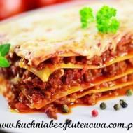 Bezglutenowa lazania - lasagne klasyczne