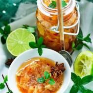 """""""Marmolada"""" z pomelo, chili, imbiru i świeżych ziół"""
