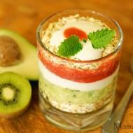Śniadaniowe samo zdrowie:)