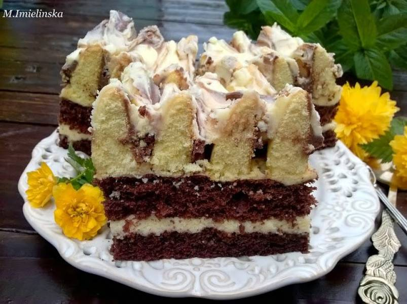 Przepis Na Ciasto Gora Lodowa Domowa Cukierenka Domowa Kuchnia
