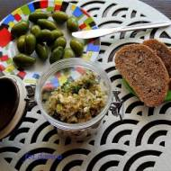 Pasta z oliwkami i hiszpańskim serem