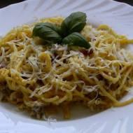 Spaghetti carbonara (bezglutenowe)