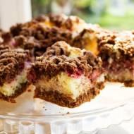 Ciasto kokosowo – malinowe