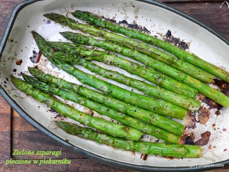 Przepis Na Zielone Szparagi Pieczone W Piekarniku Stare Gary