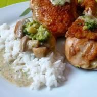 Kurczak w sosie brokułowym / Chicken in broccoli sauce
