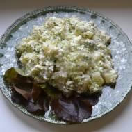 Szałołt ze brokuła, kartołfli i syra (Sałatka z brokuła, ziemniaków i sera)