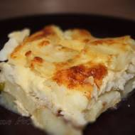 Zapiekanka rybna z ziemniakami i serem