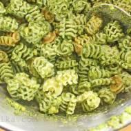 Wszyscy lubią pesto… Pesto z rukoli z prażonymi pestkami dyni i serem Asiago