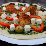 Pizza z patelni w greckim stylu – czyli kolacja w 30 minut