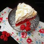 Ciasto z malinami i bezą na Dzień Mamy