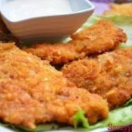 Polędwiczki drobiowe o paprykowym smaku z serem żółtym. Świetnie smakują jako przystawka podane z ulubionym sosem np. czosnkowym