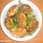 Kotleciki z gotowanego kurczaka