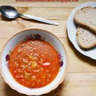Sycąca zupa z mielonym mięsem