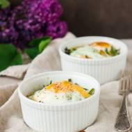 Jajka zapiekane ze szparagami - Lubelski Kociołek