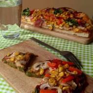 Pizzerinki na brokułowym spodzie