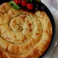 Ciasto filo z nadzieniem serowym