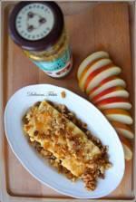 Cheddar z miodem i włoskimi orzechami